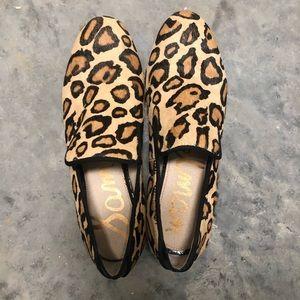 Sam Edelman leopard Kalinda loafers